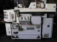 Used SANSEI horizontal axis rotary glass grinding machine for sale