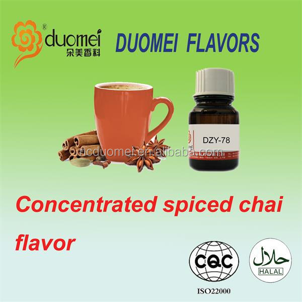 Concentrated Spiced chai liquid hookah flavor/flavour/essence