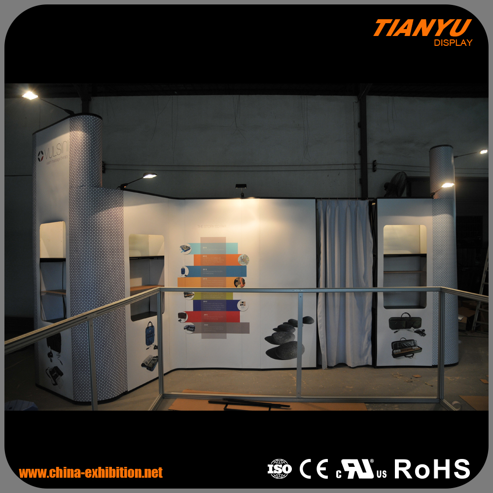2017 exhibition booth trade show DIY display, poster exhibition stand,pop up stand Pop up exhibition stand