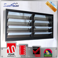 Superhouse High quality adjustable louvre window /aluminium louver window