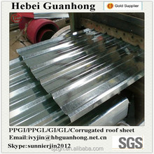 China GC Galvanized Corrugated Steel Sheet