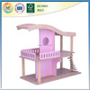 small indoor children toy wooden house