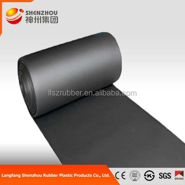 sound absorbing material rubber foam blanket in stock