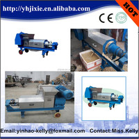 hot sell chicken manure dewater machine , manure solid and liquid separator / chicken manure dewatering machine