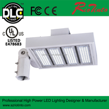 iluminacion led lights pole luminaire outdoor street light,UL DLC led shoebox light with 5years warranty
