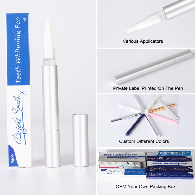 2016 the best teeth whitening 2ml /4ml no peroxide pen