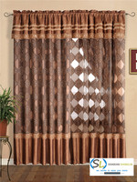 luxury ready made curtains/wholesale curtain fabrics/ready made sheer curtain