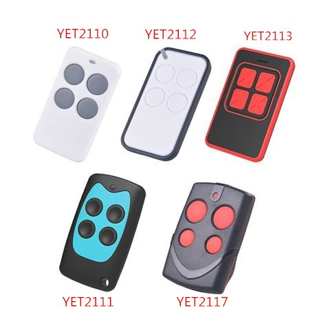 2017 New Design Colorful Remote Control YET2124