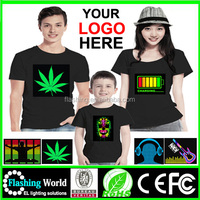 Hot Selling LED CUSTOMER LOGO SHIRT