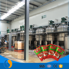 Tomato paste expiration date production line making machine