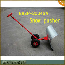 Heavy Duty Snow Pusher/Snow Shovel/Adjustable Ice Scraper