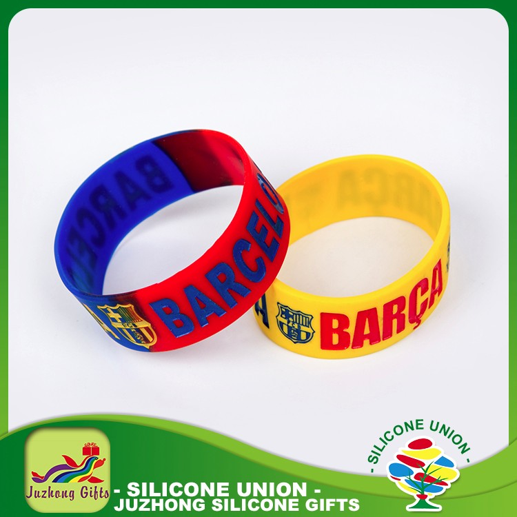 Manufacture rubber newest irregular gym wristband