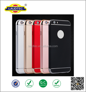Soft Silicone PC Cellphone Back Cover Skin Case For Iphone6/6Plus
