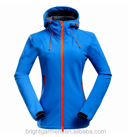 good quality fashional women soft shell jacket