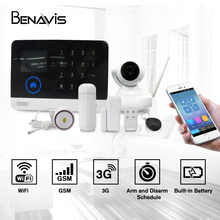 Battery Operated 3g Gsm Intelligent Gprs China Tcp Ip Anti-theft House Wifi Burglar Wireless Smart Home Security Alarm System