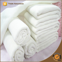 Made for baby muslin swaddle blanket white color muslin fabric cotton muslin used for baby