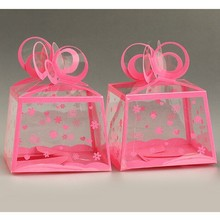 Manufacturer for pink cute pink PVC PET PP box