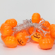 Wholesale LED Fairy Lights Funny Pumpkin 1.5M 10LEDs with Warm Light For Home Party Halloween Garden Decoration