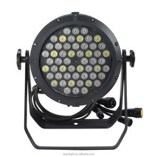 Waterproof 54*3w RGBW 4In 1led outdoor PAR light for theater,stage light,weeding light