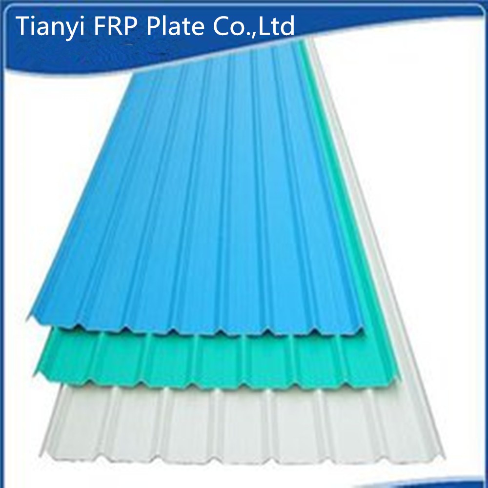 840 hot FRP heat resistant sheets pvc panel roofing