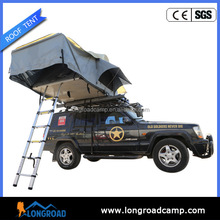 Auto camping rubber tire road roller tent