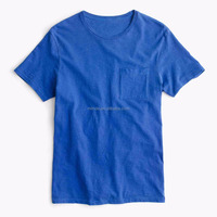 0.50 T-shirt Men's Short Sleeve Plain Dyed Indonesia T-shirts Wholesale Custom Made in China