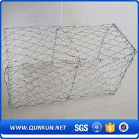 Corrosion resistance firm professional manufacturer gabion wire mesh box control water and soil erosion