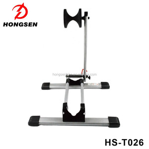New Design Foldable Bicycle Bike Parking Rack Portable Bike Tire Holder L Shape Indoor Bicycle Repair Stand Bicycle Rack