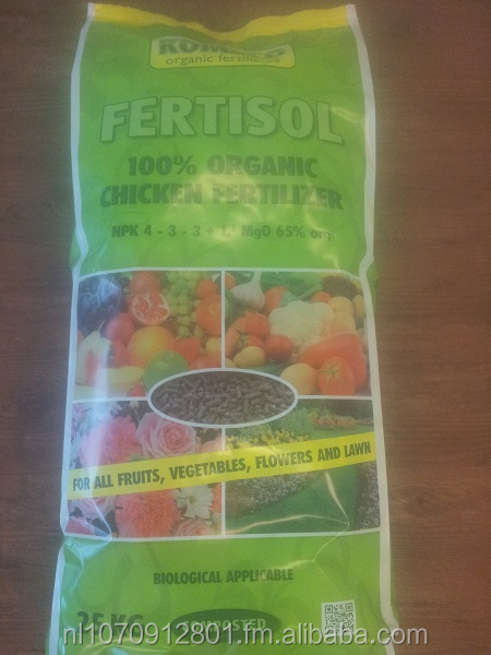 Komeco Fertisol - Organic Composted Chicken Fertilizer Pellet