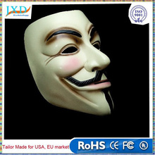 Christmas Hallowmas V for Vendetta Mask Anonymous Guy Fawkes Fancy Dress Adult Costume Accessory Party Cosplay Masks