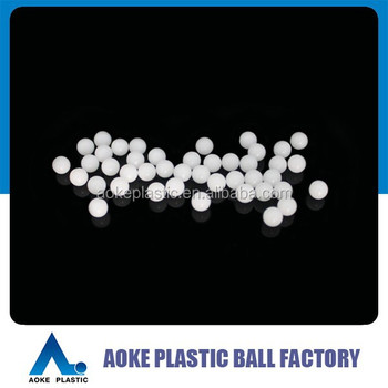 PP,POM,PE,PVDF,PMMA,PA,ABS,PTFE Smooth Chackvalve Plastic Solid Ball