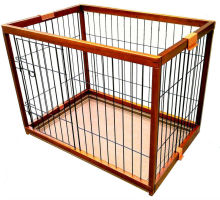 2014 Hot sale natural bamboo dog cage pet house