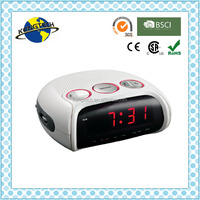 Colorful Digital PLL Alarm Clock Radio Light Rim Dimmer Radio
