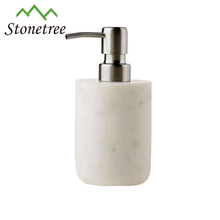 Bathroom marble liquid soap dispenser