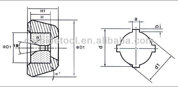 YG6 YG8 Natural wire drawing dies