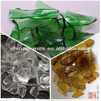 Wholesale Recycled Clear Broken Glass Cullet