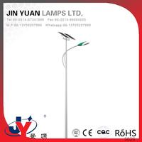 High-end atmosphere Full of modern flavor solar light led street lighting what kind of bulbs are in