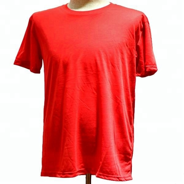 cheapest plain red white colour election tshirt, cheap wholesale tshirt manufacture guangzhou china