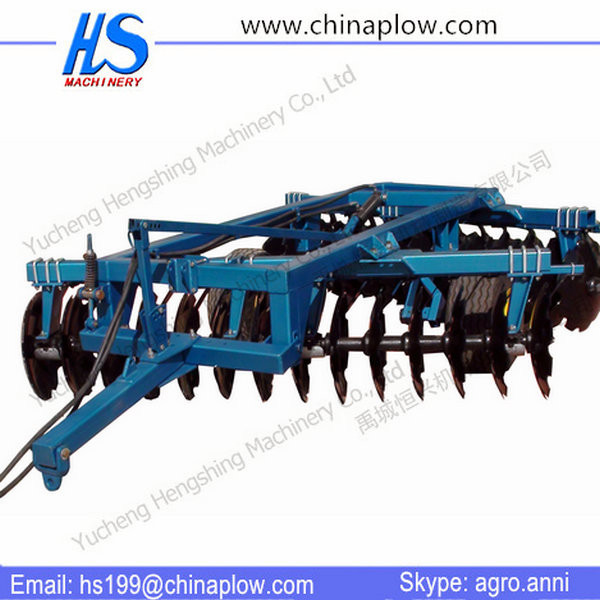 Farm tools wheeled disc harrow drag harow