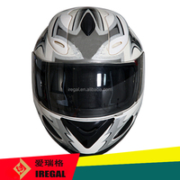 ECE approved colorful full face custom motorcycle helmet