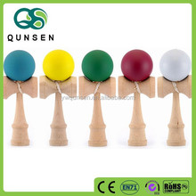 wooden kendama skill kids baby toys