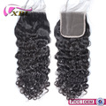 XBL New Arrival Virgin Water Wave Top Lace Closure Within Baby Hair
