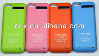 Universal Backup Battery Charger Case 3500mAh Power Bank Cover for iPhone 5 5C 5S IOS 7