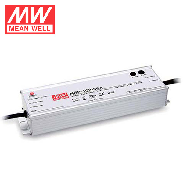 Mean well 100W 24V 4A Power Supply Universal AC DC Power Supplies With PFC Function HEP-100-24