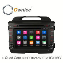 Ownice c300 car gps navigation for Kia Sportage R with GPS,support IPOD TV Function multimedia TMPS mirror link