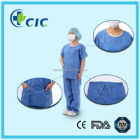 fashionable nursing scrubs suit designs/medical clothing uniforms wholesale