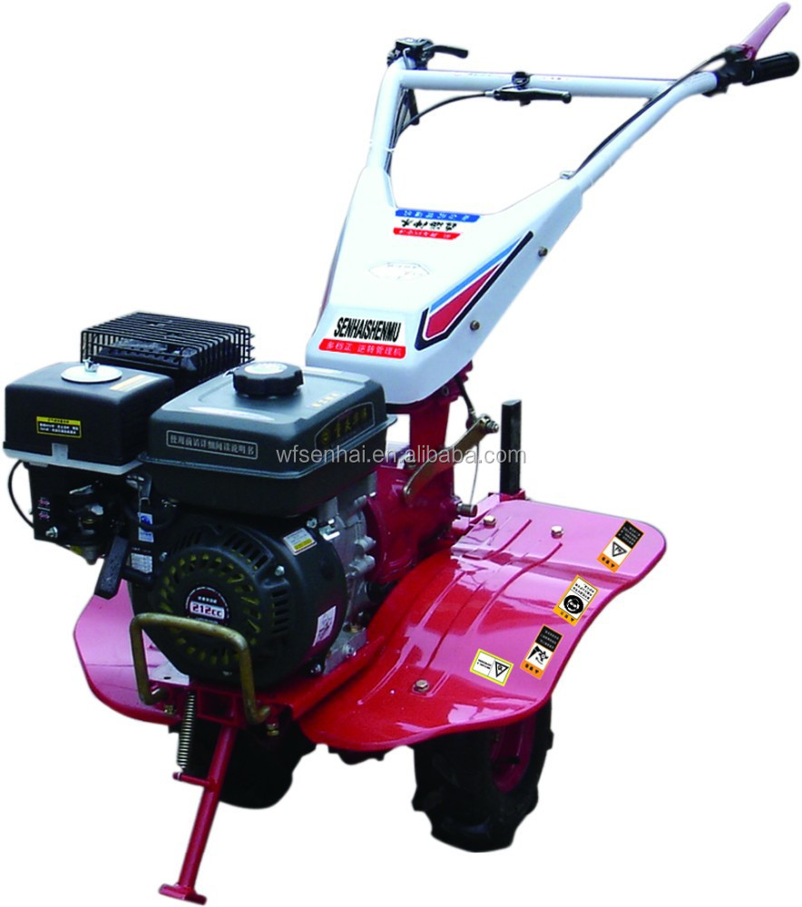 multi functional gear transmission type power tiller