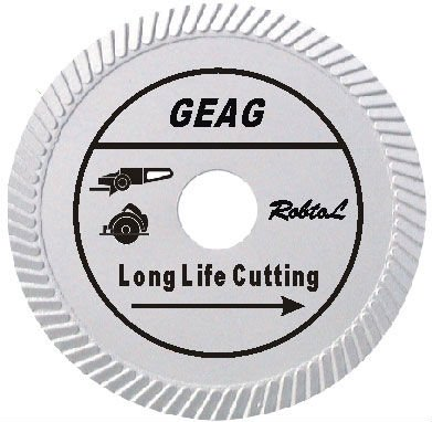 Slant Turbo Diamond Blade for Long Life Cutting Hard and Dense Material(GEAG)-sunny