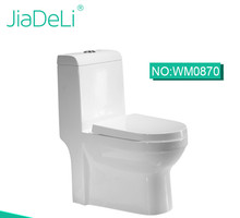 WM0870 Chinese cheap sanitary ware bathroom WC Siphonic one piece toilet