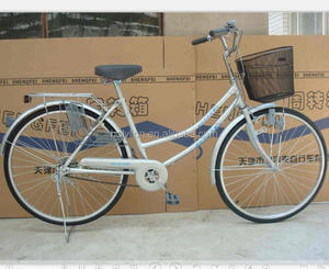 new model passed ISO9001 lady bicycle city bike cheap bikes 26inch (SSL005)